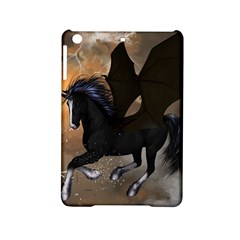 Awesome Dark Unicorn With Clouds iPad Mini 2 Hardshell Cases