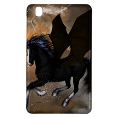Awesome Dark Unicorn With Clouds Samsung Galaxy Tab Pro 8.4 Hardshell Case