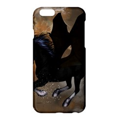 Awesome Dark Unicorn With Clouds Apple iPhone 6 Plus/6S Plus Hardshell Case