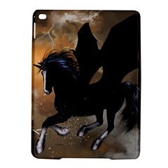 Awesome Dark Unicorn With Clouds iPad Air 2 Hardshell Cases