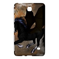 Awesome Dark Unicorn With Clouds Samsung Galaxy Tab 4 (8 ) Hardshell Case