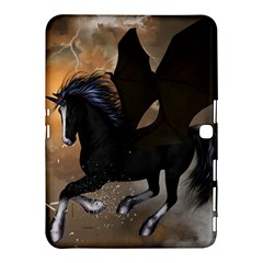 Awesome Dark Unicorn With Clouds Samsung Galaxy Tab 4 (10.1 ) Hardshell Case