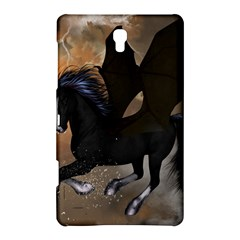 Awesome Dark Unicorn With Clouds Samsung Galaxy Tab S (8 4 ) Hardshell Case