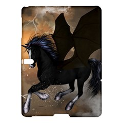 Awesome Dark Unicorn With Clouds Samsung Galaxy Tab S (10.5 ) Hardshell Case