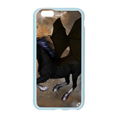 Awesome Dark Unicorn With Clouds Apple Seamless iPhone 6/6S Case (Color)