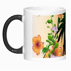 Cute Toucan With Palm And Flowers Morph Mugs