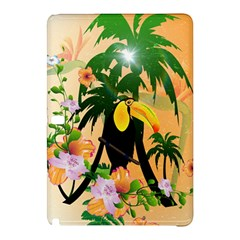Cute Toucan With Palm And Flowers Samsung Galaxy Tab Pro 12 2 Hardshell Case
