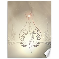 Music, Piano With Clef On Soft Background Canvas 18  x 24