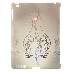 Music, Piano With Clef On Soft Background Apple iPad 3/4 Hardshell Case (Compatible with Smart Cover)
