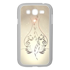 Music, Piano With Clef On Soft Background Samsung Galaxy Grand DUOS I9082 Case (White)