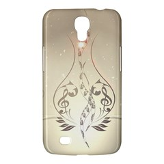 Music, Piano With Clef On Soft Background Samsung Galaxy Mega 6.3  I9200 Hardshell Case