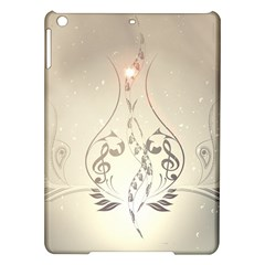 Music, Piano With Clef On Soft Background Ipad Air Hardshell Cases