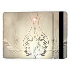 Music, Piano With Clef On Soft Background Samsung Galaxy Tab Pro 12.2  Flip Case