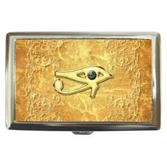The All Seeing Eye With Eye Made Of Diamond Cigarette Money Cases
