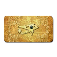 The All Seeing Eye With Eye Made Of Diamond Medium Bar Mats