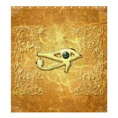 The All Seeing Eye With Eye Made Of Diamond Shower Curtain 66  x 72  (Large)