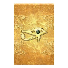 The All Seeing Eye With Eye Made Of Diamond Shower Curtain 48  x 72  (Small)
