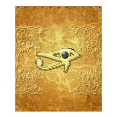 The All Seeing Eye With Eye Made Of Diamond Shower Curtain 60  x 72  (Medium)