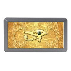 The All Seeing Eye With Eye Made Of Diamond Memory Card Reader (Mini)