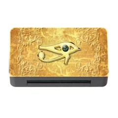 The All Seeing Eye With Eye Made Of Diamond Memory Card Reader with CF