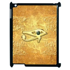 The All Seeing Eye With Eye Made Of Diamond Apple iPad 2 Case (Black)
