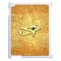 The All Seeing Eye With Eye Made Of Diamond Apple iPad 2 Case (White)