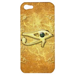The All Seeing Eye With Eye Made Of Diamond Apple iPhone 5 Hardshell Case