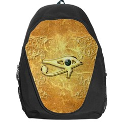 The All Seeing Eye With Eye Made Of Diamond Backpack Bag