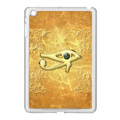 The All Seeing Eye With Eye Made Of Diamond Apple iPad Mini Case (White)