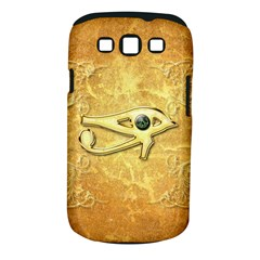 The All Seeing Eye With Eye Made Of Diamond Samsung Galaxy S III Classic Hardshell Case (PC+Silicone)