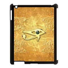 The All Seeing Eye With Eye Made Of Diamond Apple iPad 3/4 Case (Black)