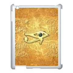 The All Seeing Eye With Eye Made Of Diamond Apple iPad 3/4 Case (White)