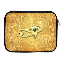 The All Seeing Eye With Eye Made Of Diamond Apple iPad 2/3/4 Zipper Cases