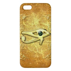 The All Seeing Eye With Eye Made Of Diamond iPhone 5S Premium Hardshell Case