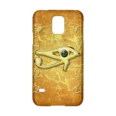 The All Seeing Eye With Eye Made Of Diamond Samsung Galaxy S5 Hardshell Case