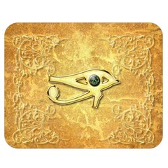 The All Seeing Eye With Eye Made Of Diamond Double Sided Flano Blanket (medium)