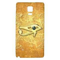 The All Seeing Eye With Eye Made Of Diamond Galaxy Note 4 Back Case
