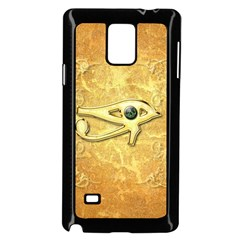 The All Seeing Eye With Eye Made Of Diamond Samsung Galaxy Note 4 Case (Black)
