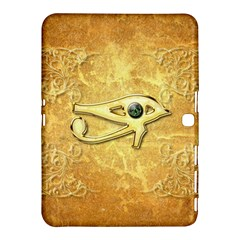 The All Seeing Eye With Eye Made Of Diamond Samsung Galaxy Tab 4 (10.1 ) Hardshell Case