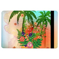 Tropical Design With Palm And Flowers Ipad Air 2 Flip