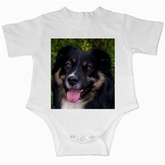 Australian Shepherd Black Tri Infant Creepers