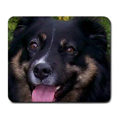 Australian Shepherd Black Tri Large Mousepads