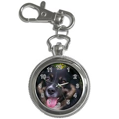 Australian Shepherd Black Tri Key Chain Watches