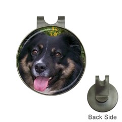 Australian Shepherd Black Tri Hat Clips with Golf Markers