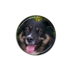 Australian Shepherd Black Tri Hat Clip Ball Marker (4 pack)