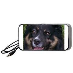 Australian Shepherd Black Tri Portable Speaker (Black)