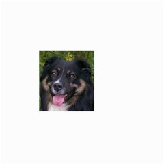 Australian Shepherd Black Tri Large Garden Flag (Two Sides)