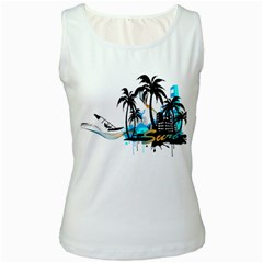 Surfing Women s Tank Tops