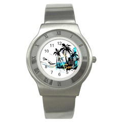 Surfing Stainless Steel Watches