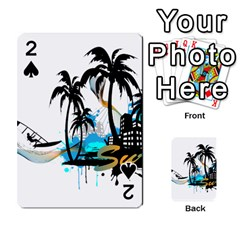 Surfing Playing Cards 54 Designs